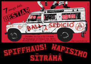 Spiffhaus; Sïtrâmâ; Wapisimo; Bestiar Universal; Bestiar Netlabel; El Pumarejo de Barcelona