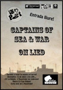 Captains of Sea and War + 9mLied