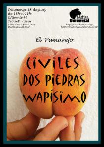 Dos Piedras; Civiles; Wapísimo; Bestiar Universal; Bestiar Netlabel; El Pumarejo de Barcelona