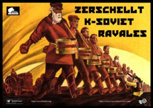 Zerschellt; K-Soviet; Ravales; Bestiar Netlabel; El Pumarejo de Barcelona